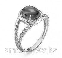 Кольцо MASKOM серебро с родием, ситалл, овал 100-1243 размеры - 17