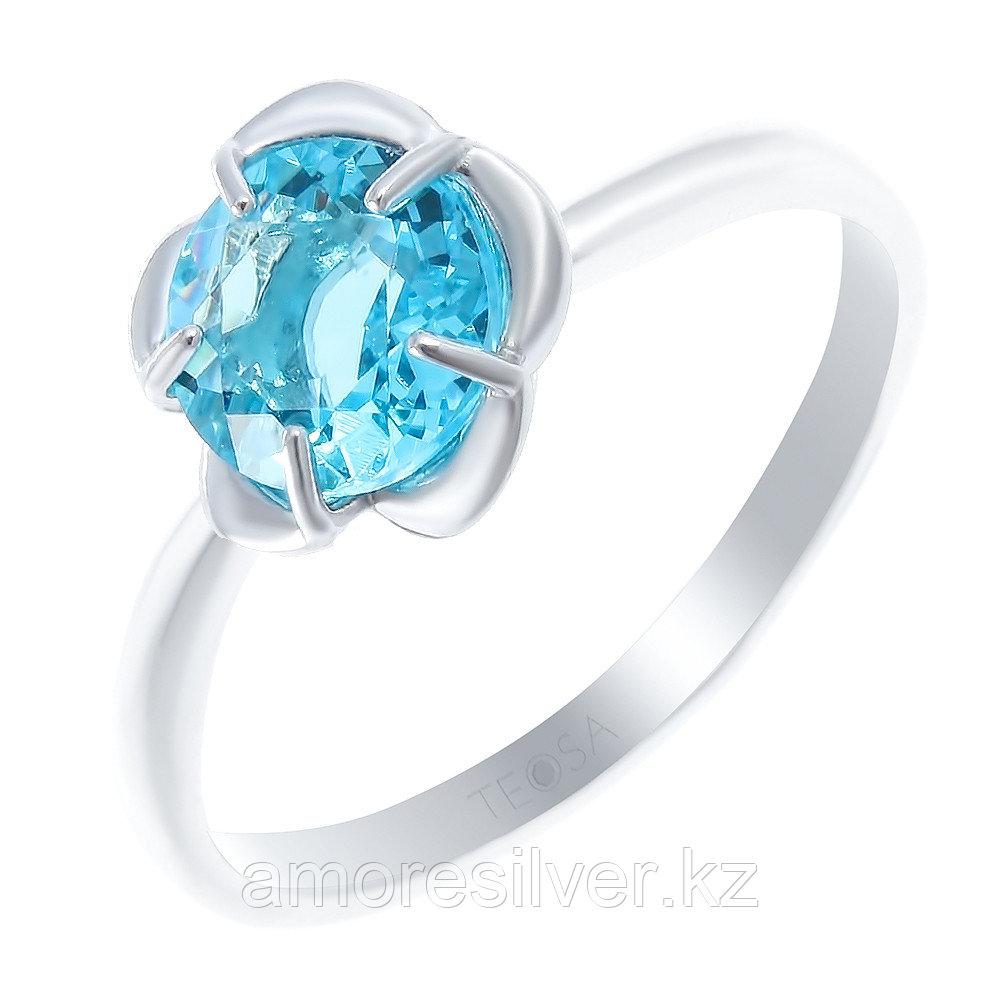 "Кольцо TEOSA серебро с родием, алпанит, ""каратник"" 12217-9-1"