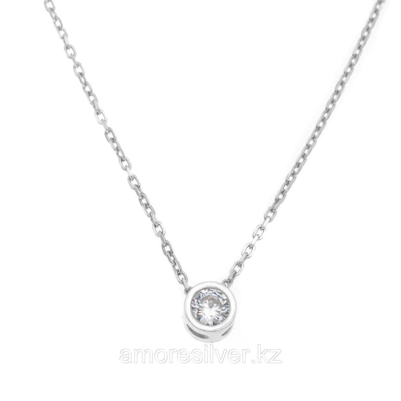Колье TEOSA серебро с родием, фианит 0320175-00775