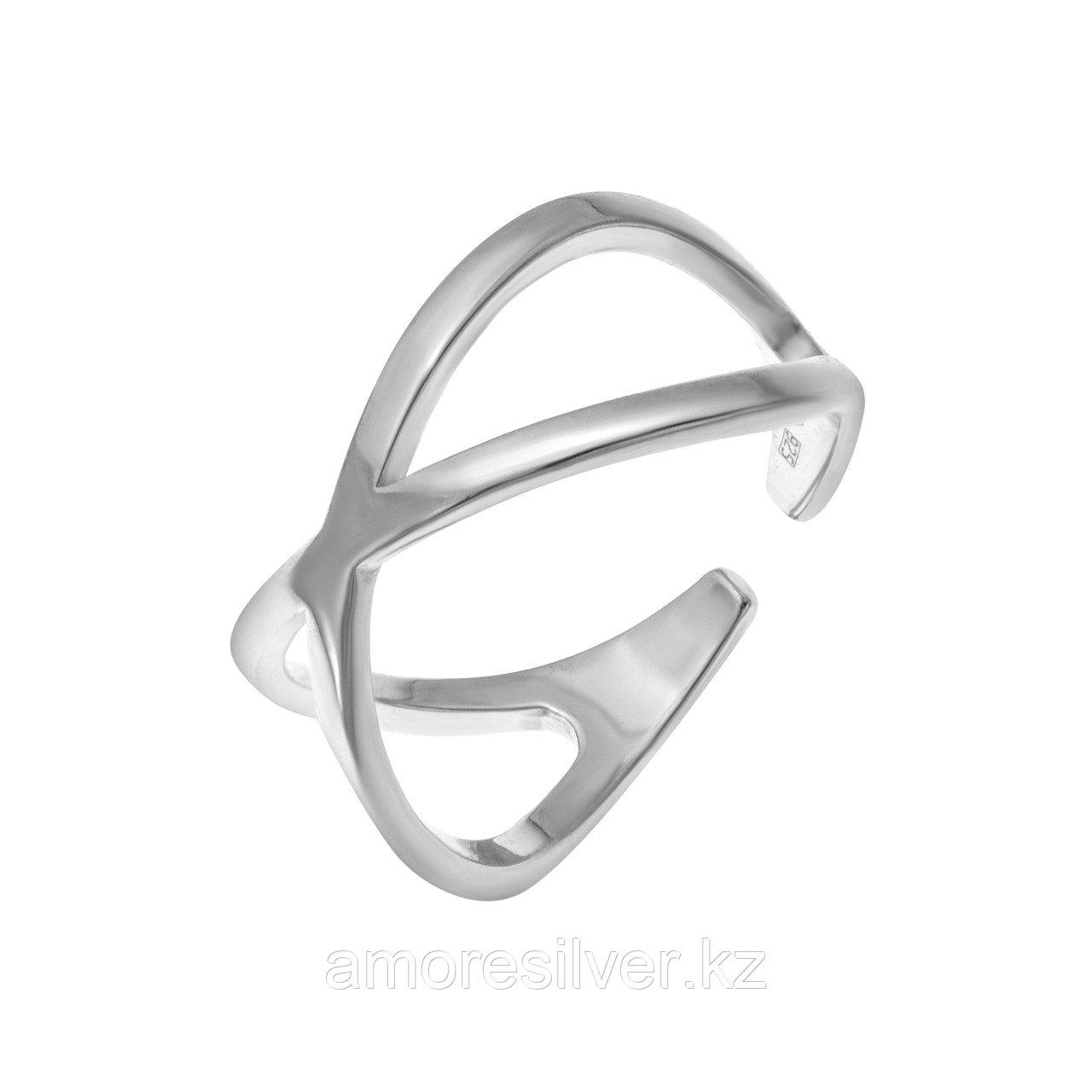 Кольцо TEOSA серебро с родием, без вставок 0101588-00245