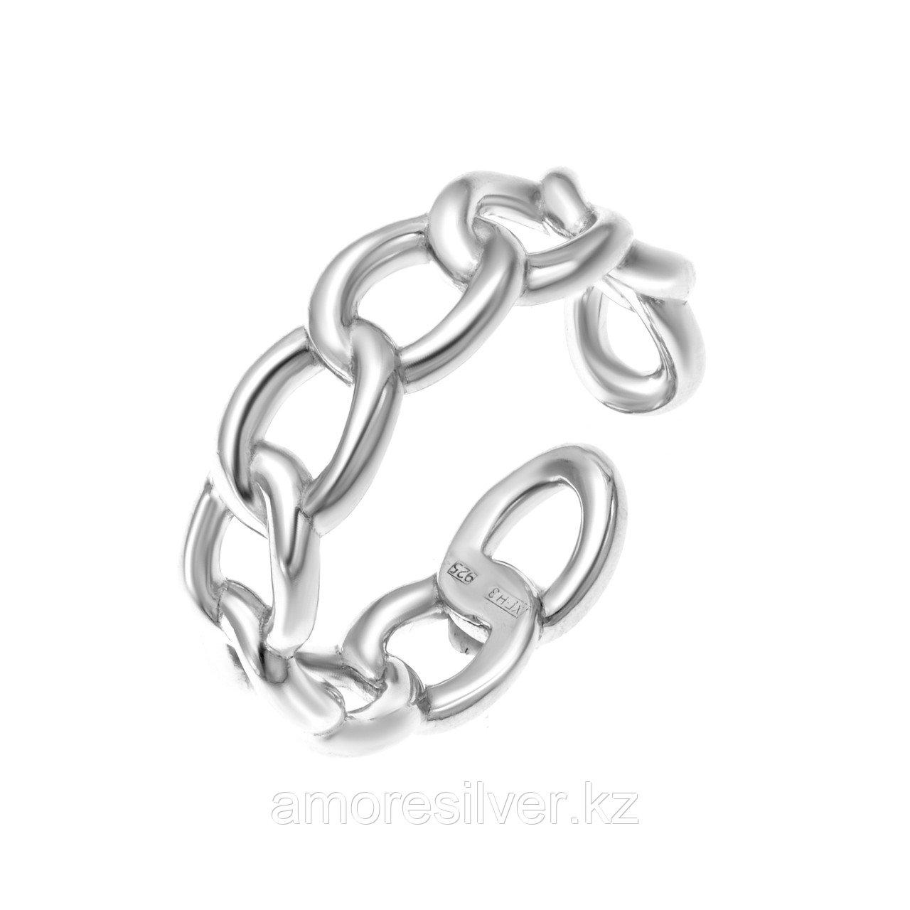 Кольцо TEOSA серебро с родием, без вставок 1101296-00245