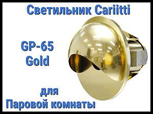Светильник для паровой комнаты Cariitti GR-65 (Золото, диаметр-22 мм, IP67)