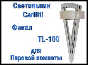 Светильник для паровой комнаты Cariitti Факел TL-100 (Акриловый стержень, IP67)
