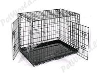Клетка для животных № 1 ( 108 * 69 * 78 ) две двери 044 ВК
