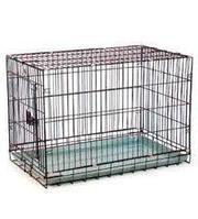 Клетка для животных № 1 ( 78 * 48 * 55 ) две двери 042 ВК