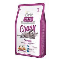 Брит сухой для котят Care 2 кг