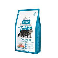 Брит сухой для кошек 400 гр Care Tobby для крупных