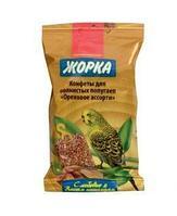 Жорка лакомства для попугаев конфета ореховое ассорти