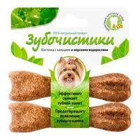 Лакомства Деревенские для собак зубочистки для мелких пород 2 * 18 гр водоросли