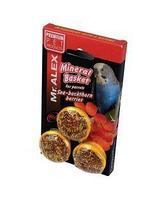 Лакомства для попугаев Мистер Алекс минеральные корзинки облепиха