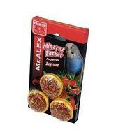 Лакомства для попугаев Мистер Алекс минеральные корзинки шиповник