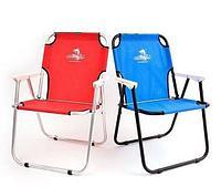 Кресло-шезлонг Кедр алюминий, цвет красный, артикул АКS-08
