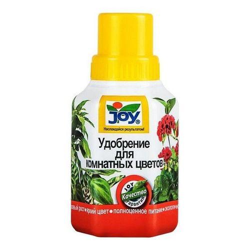 JOY Удобрение Для комнатных цветов 0,25 литра