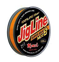Шнур JigLine Super Silk 0,08мм 6,2кг 100м хаки