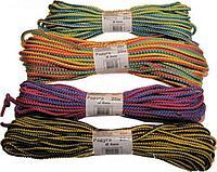 Шнур полипропиленовый цветной Радуга 4мм, 20м