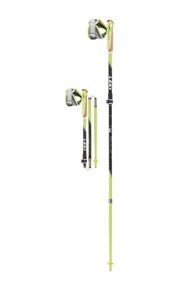 Карбоновые палки для скайранинга LEKI Micro Trail Vario 110-130 см (Германия)