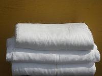 Полотенце вафельное 1 сорта (ширина 50см), фото 1