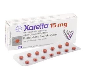 Ксарелто Ривароксабан (Xarelto Rivaroxaban) 10 мг, 15 мг, 20 мг