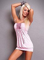 Клубное платье,розовое