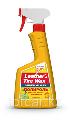 Leather&Tire Wax Super Gloss(Полироль для кожи, резины, пластмассы)