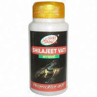 Шиладжит вати, Shilajeet vati, Shri ganga, 300 таб.