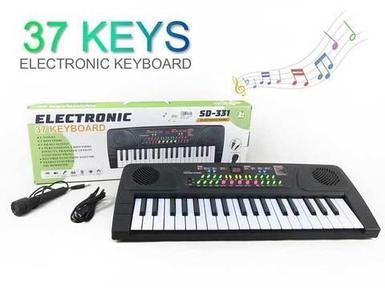 Электропианино детское KEYBOARD SD-331 с микрофоном и 37 клавишами