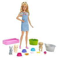 Barbie Игровой набор «Кукла и домашние питомцы»