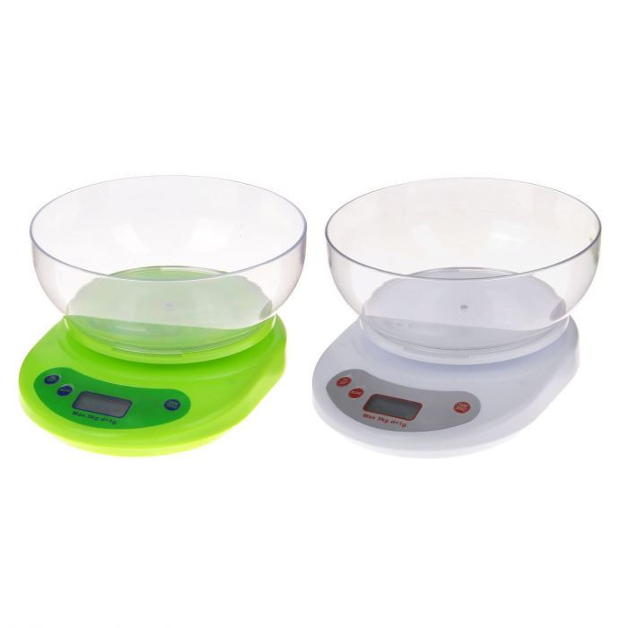 Кухонные весы КЕ-1 white