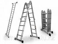 Лестница трансформер шарнирная 6 ступеней