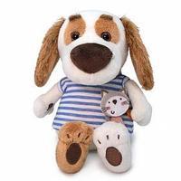 Мягкая игрушка 'Бартоломей Baby в футболке с кошечкой', 20 см