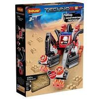 Конструктор Technobot, цвет красный, белый, серый, с кинетическим песком