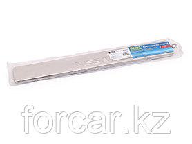 Накладки внутренних порогов NISSAN Sentra (2014->) (нерж. сталь) (к-т 4 шт.), фото 2