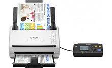 Epson B11B226401BT Сканер потоковый WorkForce DS-530N A4, 600 x 600 dpi, USB, Ethernet 10/100 Base Tx