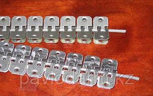 Комплект для Соединения конвейерной (транспортерной) ленты Barger 1 от  2-7 мм + трос и клепки
