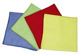 Салфетки из микрофибры, обтирочный материал для уборки помещений.