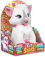 WowWee Pet Starz - Кот Катяна - Танцующая плюшевая кукла Rockstar