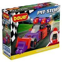 Конструктор 'Гоночная машина. Pit Stop', цвет фиолетовый, красный