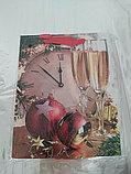 Пакет подарочный бумажный Новогодний С Рождеством 18*23 см, фото 2