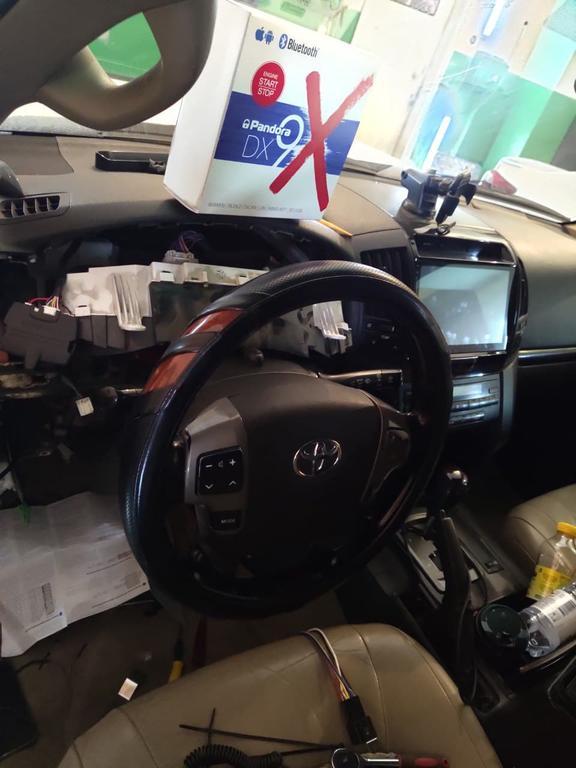 Pandora Dx 4G авто сигнализация с автозапуском GSM управление для автомобиля Land cruiser 200