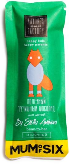Гречишный Молочный Шоколад для детей Nature's Own Factory