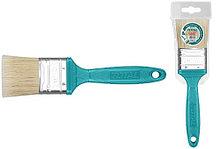 Кисть плоская 75мм, пластиковая ручка TOTAL арт.THT846036