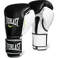 Боксерские перчатки Everlast   чёрно-белые