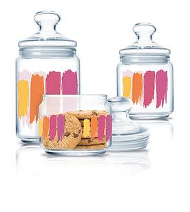 Набор банок для хранения продуктов Luminarc Paint Brush 3 шт.