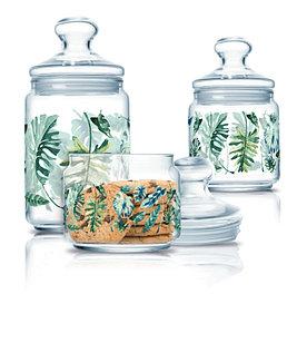 Набор банок для хранения продуктов Luminarc Tropical Foliage 3 шт.