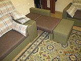 Комплект диван, кресло и пуфик, фото 3