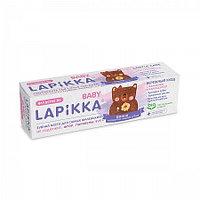 """Зубная паста """"Lapikka Baby Бережный уход с кальцием и календулой 45гр"""