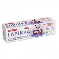 """Зубная паста """"Lapikka Kids Земляничный десерт с кальцием """"45гр"""