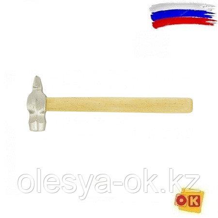 Молоток слесарный 200 г, круглый боек. Россия