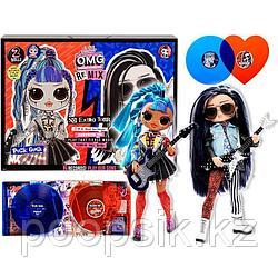 OMG Remix мальчик Rocker Boi и девочка Punk Grrrl LOL Surprise
