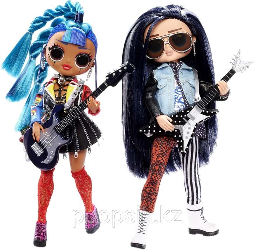 OMG Remix мальчик Rocker Boi и девочка Punk Grrrl LOL Surprise - фото 2